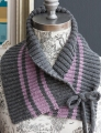 Cascade Venezia Sport Ribbed Shawl-Collar Cowl Kit