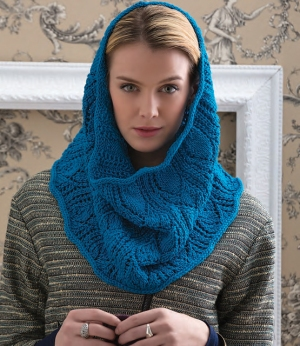 Cascade Venezia Worsted Lacy Leaves Snood Kit - Hats and Gloves