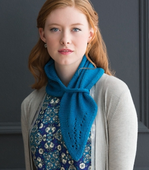 Cascade Venezia Worsted Lace Kerchief Kit - Women's Accessories