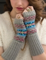 Cascade Venezia Sport Fair Isle Arm Warmers