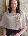 Cascade Venezia Worsted Soutache Capelet  Kit