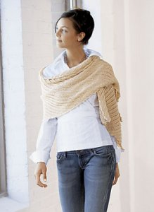 Blue Sky Fibers Alpaca Silk Rectangle Shawl Kit - Scarf and Shawls