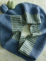 Cascade Venezia Sport Solid and Striped Infinity Scarf
