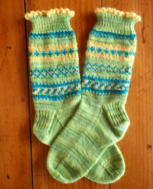 Cascade Heritage Spectrum Sock Kit - Socks