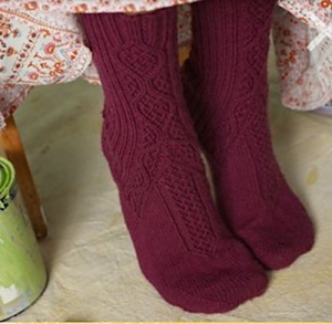 Plymouth Happy Feet Schwabische Sock Kit - Socks