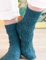 Unraveled Designs and Yarn Fingering Passerine Socks Kit