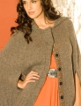 Cascade Eco Wool Not-A-Poncho City Cape