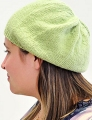 Blue Sky Fibers Sport Celery Slouch Hat Kit