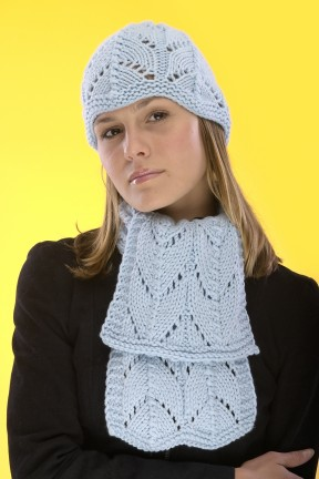 Karabella Supercashmere Lace Hat & Scarf Kit - Scarf and Shawls
