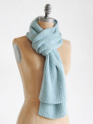 Blue Sky Fibers Suri Merino Dream Scarf Kit - Scarf and Shawls