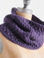 Blue Sky Fibers Suri Merino Pangolin Cowl Kit