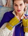 Lorna's Laces Shepherd Worsted Ribbed Fingerless Mitts Kit