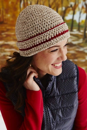 Cascade 220 Cuffed Crochet Hat Kit - Crochet for Adults