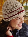Cascade 220 Cuffed Crochet Hat Kit