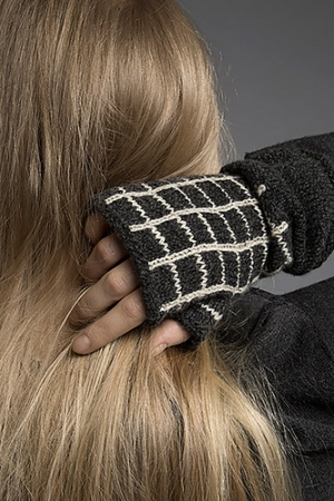 Shibui Knits Pebble Frame Mitts Kit - Hats and Gloves