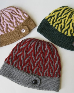 Hikoo Simplicity Corkscrew Hat  Kit - Hats and Gloves