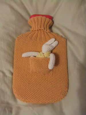 Debbie Bliss Baby Cashmerino Hot Water Bottle Cover Kit - Home Accessories