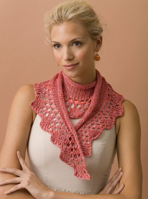 TSCArtyarns Empress Rose Garden Scarf Kit - Scarf and Shawls