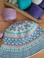Cascade 220 Fingering Fair Isle Bonnet Kit