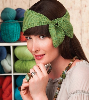 Cascade 220 Heathers Leaf Headband Kit - Women's Accessories