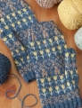 Cascade 220 Fingering Windmill and Flower Mittens Kit