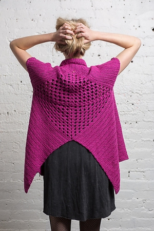 Cascade Venezia Worsted Swing Vest Kit - Crochet for Adults