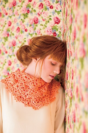 Dream In Color Smooshy Mango Infinity Cowl Kit - Crochet for Adults