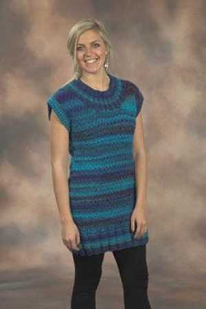 Plymouth Bazinga Tunic Length Pullover Kit - Women's Pullovers