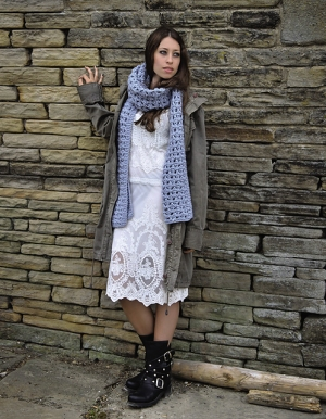 Rowan Cocoon Alanna Scarf Kit - Scarf and Shawls