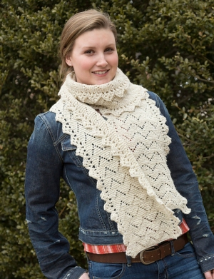 Classic Elite Mohawk Wool Haystack Scarf Kit - Scarf and Shawls