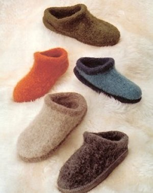 Fiber Trends Pattern Patterns - Felt Clogs Pattern
