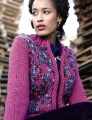 Rowan Big Wool/Big Wool Color Disco Cardigan Kit