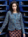 Rowan Big Wool/Big Wool Colour Jitterbug Cardigan Kit
