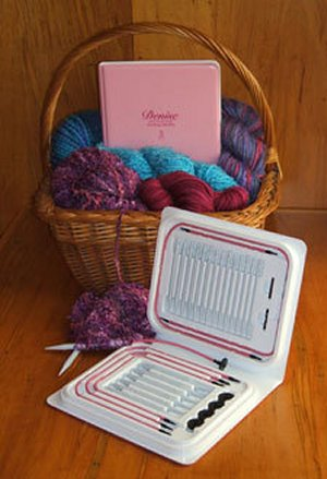 Denise Interchangeable Sets and Cords Needles - Breast Cancer Knitting Needle Kit Needles