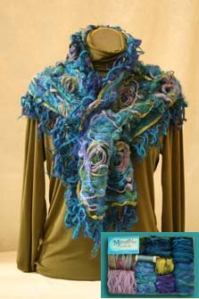 MuseAbles Artsy Fiber Kits - Blues