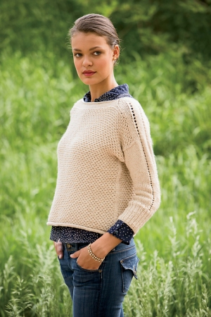 Cascade Eco Cloud Wheaten Pullover Kit - Women's Pullovers