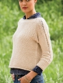 Cascade Eco Cloud Wheaten Pullover
