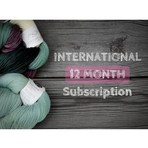 Lorna's Laces Lorna's LE Club - Shepherd Sock Duet - 12-Month Gift Subscription - INTL
