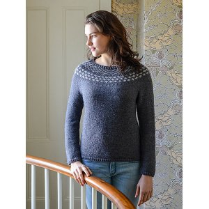 Berroco Portfolio Vol. 2 Patterns - Mended Pullover - PDF DOWNLOAD Pattern