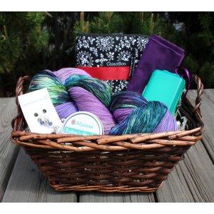 Mother's Day Basket - Knitter's Dream