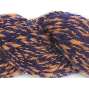 Lotus Handspun Cashmere Yarn - 31 Brass/Purple Twist