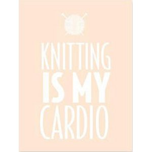 Knitterella Notepads - Knitting is My Cardio