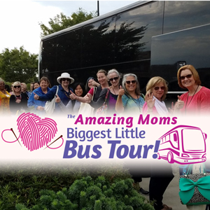 Jimmy Beans Wool Biggest Little Bus Tour - May 5th - West Sacramento and Roseville