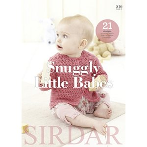 Sirdar Pattern Books - 516 Snuggly Little Babes
