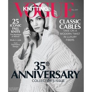 Vogue Knitting International Magazine - '17 Fall - 35th Anniversary Edition
