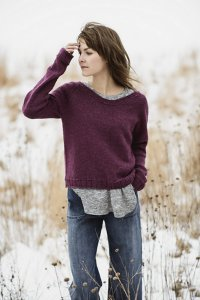 Blue Sky Fibers Patterns - The Classic Series Patterns - Cromwell Pullover - PDF DOWNLOAD