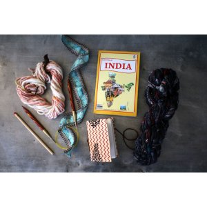 Jimmy Beans Wool Passport to India - Blackberry Sparkle