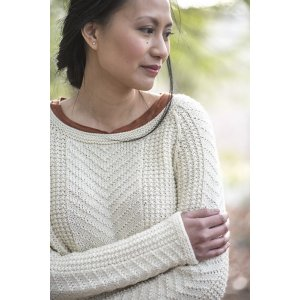 Berroco Portfolio Vol. 4 Patterns - Glacial Pullover - PDF DOWNLOAD Pattern