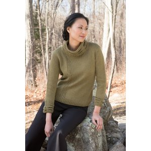 Berroco Portfolio Vol. 4 Patterns - Macaba Pullover - PDF DOWNLOAD Pattern