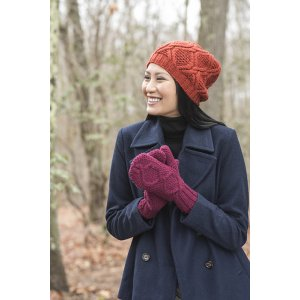 Berroco Portfolio Vol. 4 Patterns - Alpine Twist Hat & Mittens - PDF DOWNLOAD Pattern